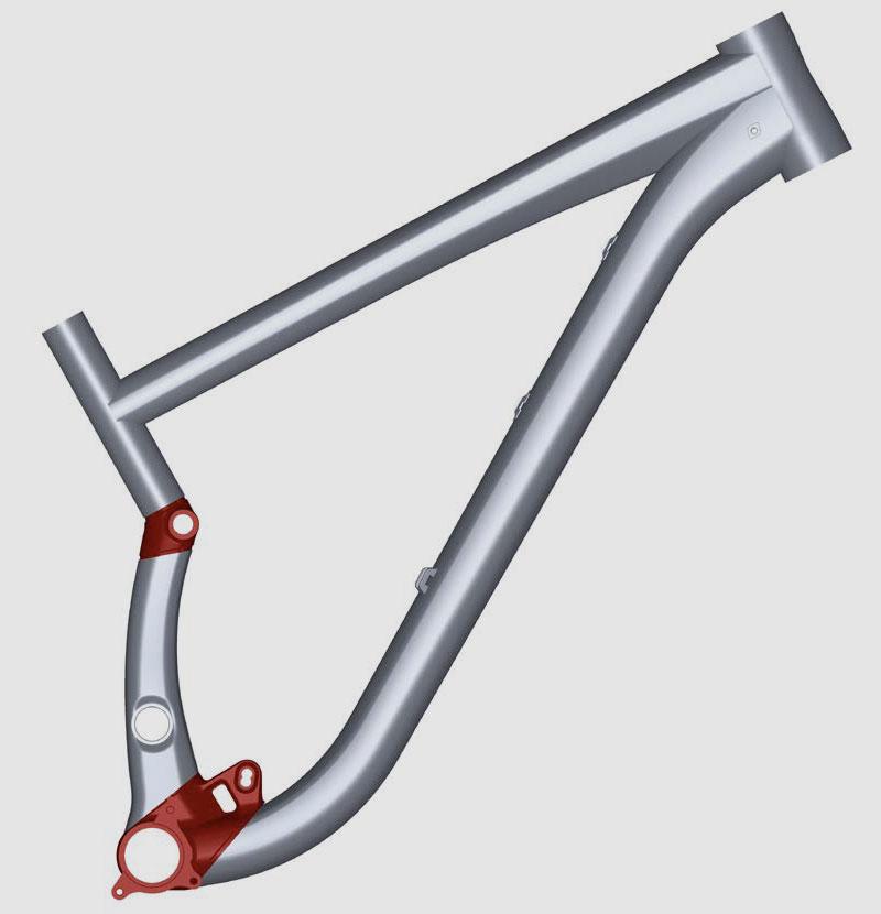 Scott Gambler 2008-2012 Frame Pivot Bearing Kit